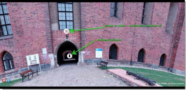 Wirtualny spacer po lidzbarskim zamku - full image